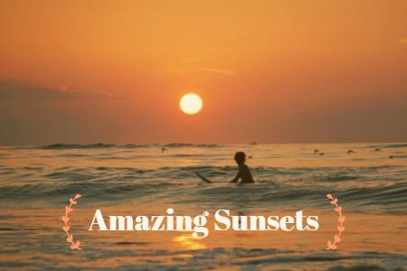 Amazing Costa Rica Vacation Sunsets