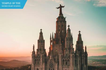 Churches of Barcelona - Temple of Sacred Heart of Jesus
