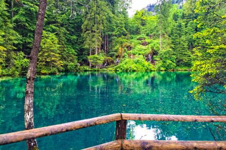Blausee Switzerland Travel Video