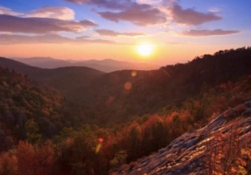Visit Asheville For Mountains…