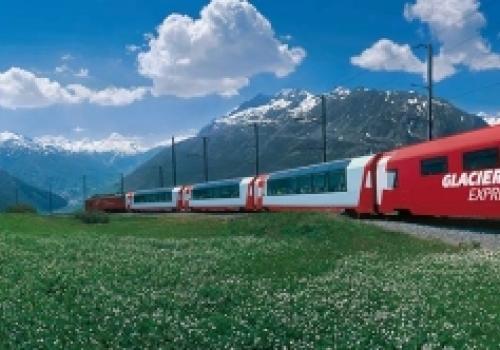 Glacier Express Rail Switzerland