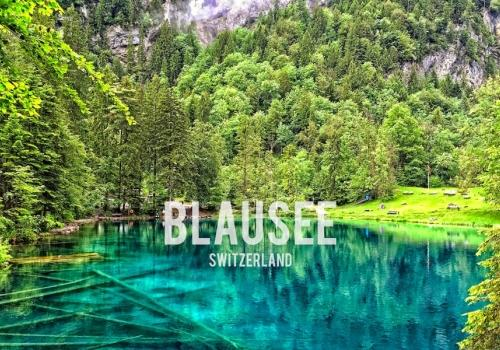 Discover Blausee Blue Lake…