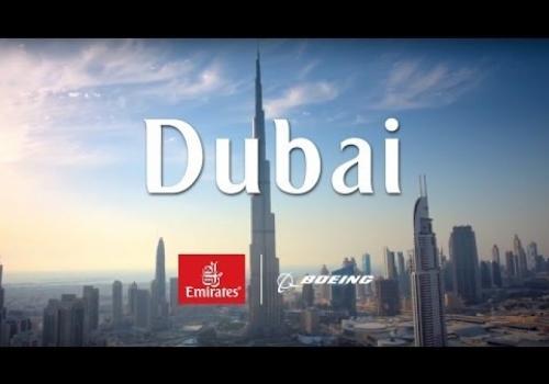 Soaring Over Dubai