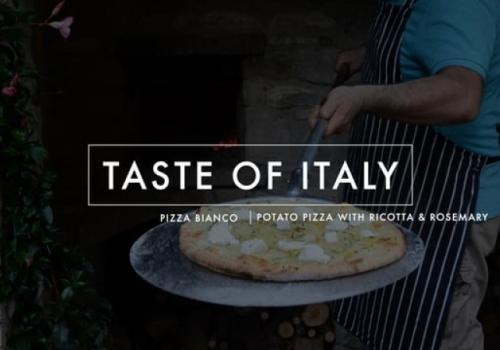 Taste of Italy: Pizza…