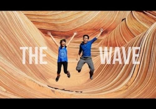 The Wave Rock Formation…