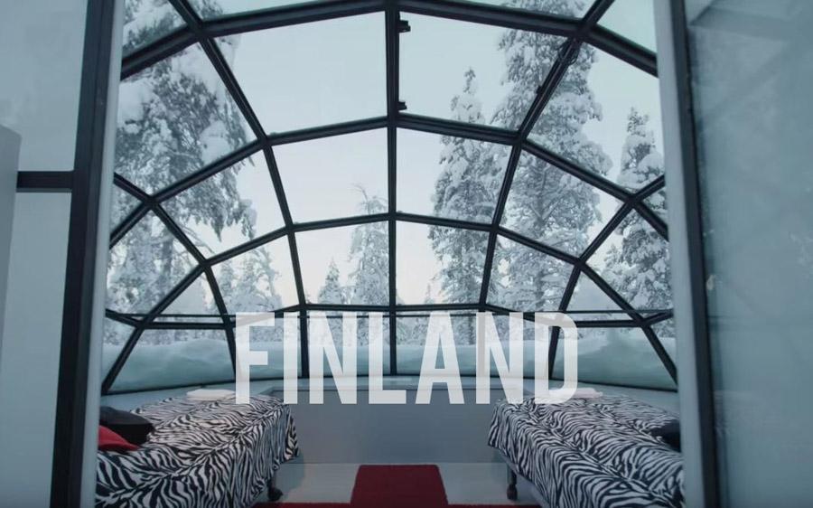 Finland Kakslauttanen Arctic Resort