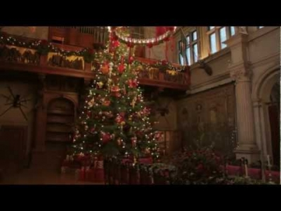 Biltmore's Annual Christmas Tree Raising Celebration
