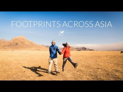Footprints Across Asia in 1 Year - A hyperlapse journey