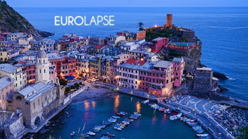 A Tour of Europe in Timelapse