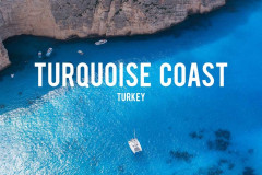 Turkey's Turquoise Coast from the Air