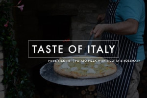 Taste of Italy: Pizza Bianco - Potatoes, Rosemary & Ricotta