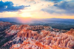 Sunrise at Bryce National Park