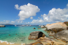 Spanish Town - Baths - BVI